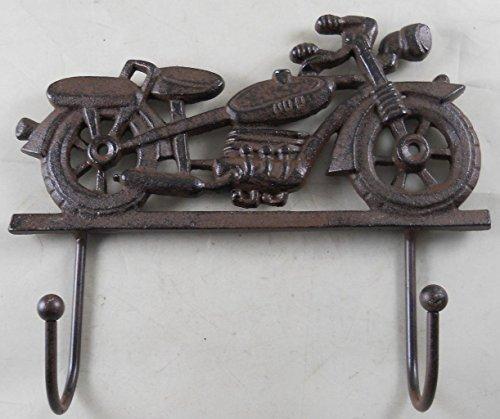 (Cast Iron Motorcycle Coat Rack)