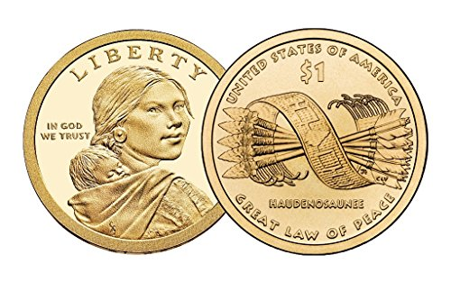 American Stamp Collectibles - 2010-S PROOF Native American (Sacagawea/Golden) Dollar