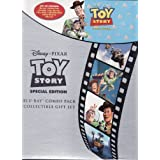 Toy Story Special Edition Blu-ray Combo Pack Collectible Gift Set (1-Disc Blu-ray, 1-Disc DVD, Collectible Book, Sticker Book & Litho Set)