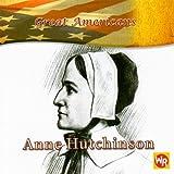 Anne Hutchinson, Barbara Kiely Miller, 0836883241