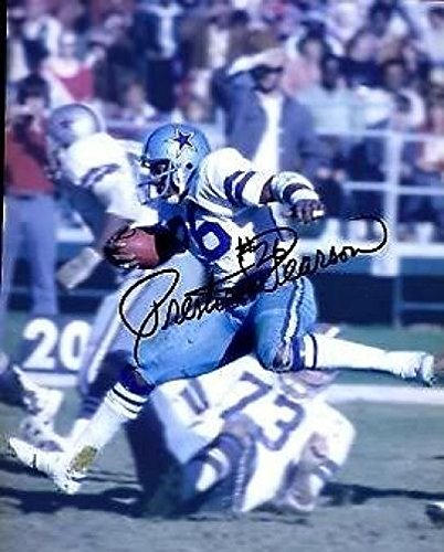 - PRESTON PEARSON COWBOYS SIGNED 8X10 PHOTO JSA AUTHENTIC AUTOGRAPH