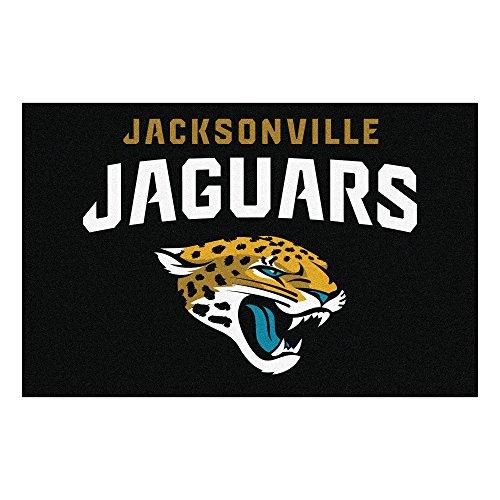 Jaguar Area Rug (FANMATS NFL Jacksonville Jaguars Nylon Face Starter Rug)