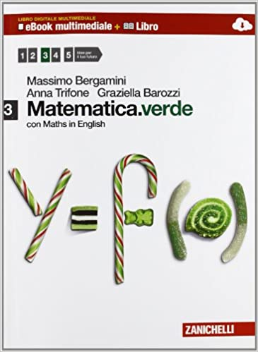 MATEMATICA VERDE 3 con maths in english