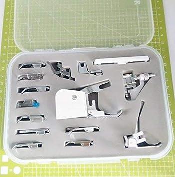 Kit de prensatelas YICBOR 15 piezas para máquina de coser doméstica, para Brother, Singer