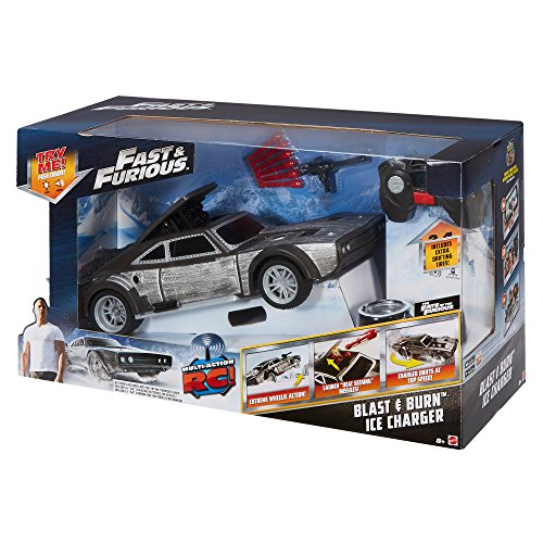 Fast & Furious Blast & Burn Ice Charger Vehicle