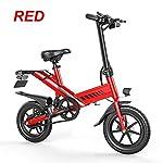 51AWRyLagPL. SS150 RPHP Bici elettrica Pieghevole Pieghevole 36 Colori 7.5Ah 350 W Smart E in Lega di Alluminio 14 Mini Bici elettrica…