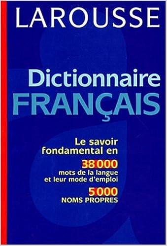Lire en ligne Dictionnaire français pdf