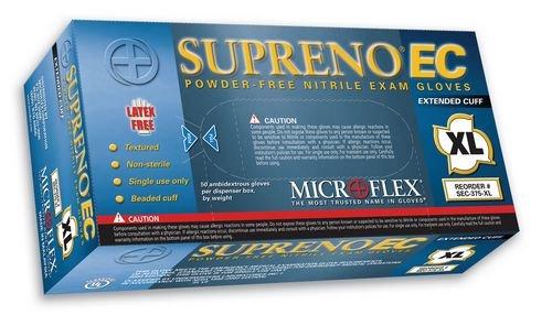 Microflex MFXSEC375XL Supreno Extended Nitrile