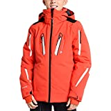 Obermeyer Kids Boy's Mach 8 Jacket (Little Kids/Big Kids) Red Large
