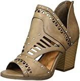 Sugar Women's SGR-Very Cute Ankle Boot, Taupe Burnished, 6.5 M US