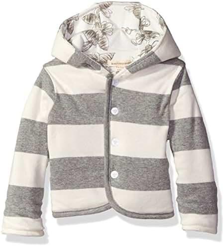 Burt's Bees Baby Girls' Organic Reversible Snap Front Jacket
