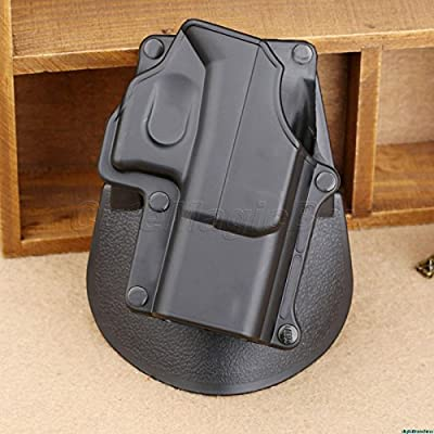 Outlandish Tactical Glock Paddle Holster Models 17 19 22 23 31 32 34 35 Right Hand Gun/Pistol