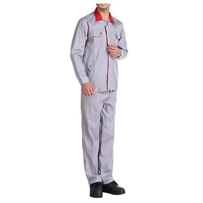 416 verano manga corta traje chaqueta de trabajo protección uniforme chaqueta soldador soldadura soldador ropa 185: Amazon.es: Ropa y accesorios