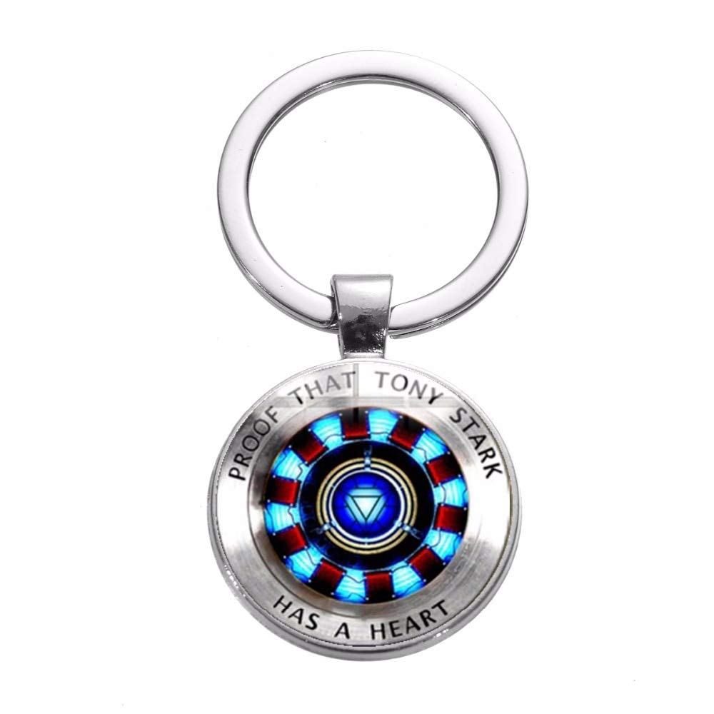 Amazon.com: Movie Iron Man Arc Reactor Keychain Tony Stark ...