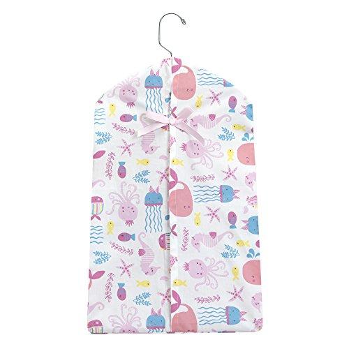 Bedtime Originals Sugar Reef Aquatic Diaper Stacker, Pink/Blue