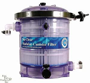 how to clean canister filter tubes