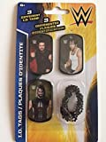 WWE ID Dog Tags With Chain Series 2 - Set P - 3 Count