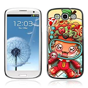 Designer Depo Hard Protection Case for Samsung Galaxy S3 / Cute Creature