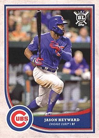 b894628edfc Amazon.com  Baseball MLB 2018 Topps Big League  52 Jason Heyward  52 ...