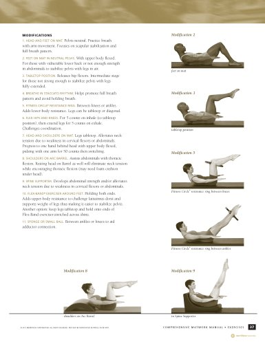 stott pilates comprehensive matwork manual pdf
