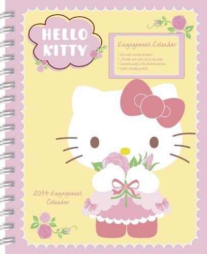 (2014 Hello Kitty Weekly Engagement Calendar by Sanrio (September 01,2013))