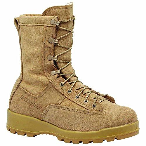 Belleville 775 Men's 8-in WP Combat Tactical Boot Tan 11.5 M US