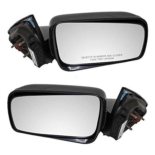 (Prime Choice Auto Parts KAPFO1320243PR Power Side View Mirror Pair Set L/R)