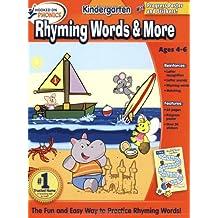 HOP Kindergarten Rhyming Words Basic Workbook