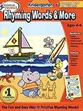Hooked On Phonics Kindergarten Rhyming Words Workbook