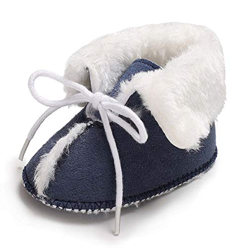 Pictures of Fnnetiana Baby Soft Sole Anti-Slip Winter Blue 2