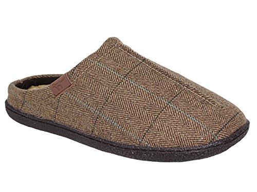 Jo & Joe, Pantofole uomo marrone Brown
