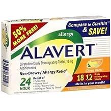 Alavert 24 Hour Orally Disintegrating Tablets Citrus Burst 18 Tablets