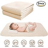 [Patrocinado] Baby Waterproof Bed Pad Organic Cotton Mattress Protector...