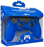 Tomee Silicone Skin Protective Case for PS4 Controller (Blue) by Tomee