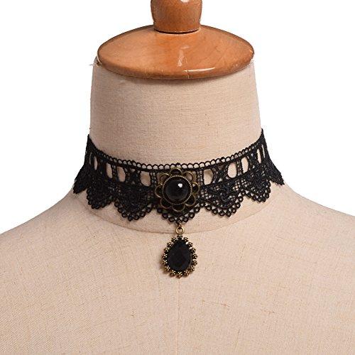 BLZ Gothic Girls Choker Necklace