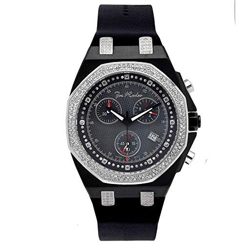 Joe Rodeo Diamond Men's Watch - PANAMA black 2.15 ctw