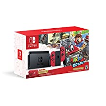 Nintendo Switch Console - Super Mario Odyssey Edition