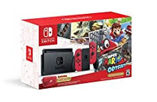 Nintendo Switch Console - Super Mario Odyssey Edition