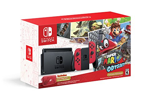 Nintendo Switch Super Mario Odyssey Gaming Console