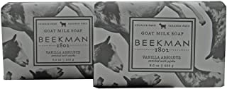 product image for Beekman 1802 Pure Goat Milk Soap a set of 2-9 oz. each (Vanilla Absolute)