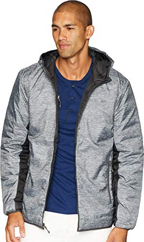 Columbia Men's Lake 22¿ Reversible Hooded Jacket Columbia Grey Heather Print/Shark Medium