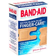 Band-Aid(R) Brand Water Block Plus(R) Finger-Care™ Bandages, Assorted, Box Of 20