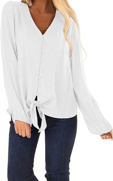 Camisa De La Manera Blusa De La De Modernas Casual Las ...
