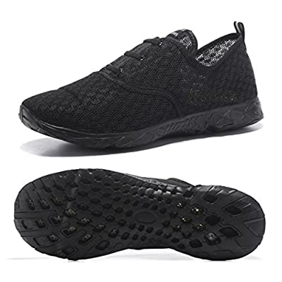Kenswalk Men's Aqua Water Shoes Lightweight Quick Drying Beach Shoes