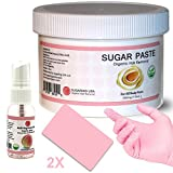 Cheap Sugaring Organic Waxing Kit – 12oz Sugaring Jar, Anti-Ingrown Hair Solution, 2 Sugaring Applicators, Sugaring Gloves