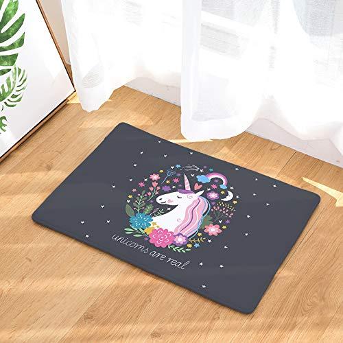 NOVELOVE Unicornio Serie Flannel Cojín De Impresión Digital ...