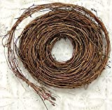 Natural Twig Garland 15' Country Primitive Craft Décor