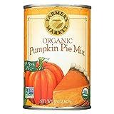 Farmer's Market Organic Pumpkin - Pie Mix - Case of 12 - 15 oz.