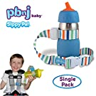 PBnJ Baby SippyPal Sippy Cup Holder Strap Leash Tether (1 Beach)