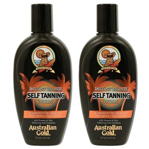 Pack Instant Bronze Tanning Lotion